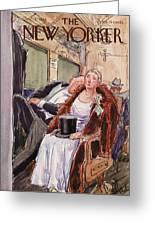 New Yorker December 3rd, 1938 Greeting Card
