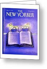 New Yorker December 3rd, 1990 Greeting Card