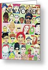 New Yorker December 4th, 1995 Greeting Card
