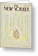 New Yorker December 5th 1977 Greeting Card