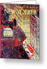 New Yorker December 7th, 1992 Greeting Card