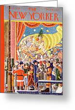 New Yorker December 9th, 1933 Greeting Card