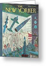 New Yorker December 9th, 1961 Greeting Card