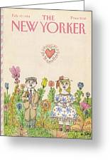 New Yorker February 13th, 1984 Greeting Card
