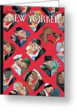 New Yorker February 14th, 2000 Greeting Card