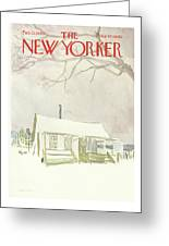 New Yorker February 15th, 1969 Greeting Card