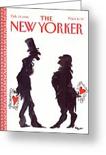 New Yorker February 15th, 1988 Greeting Card