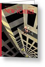 New Yorker February 15th, 1999 Greeting Card