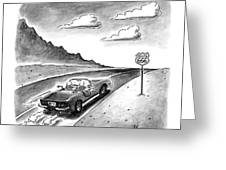 New Yorker February 23rd, 1998 Greeting Card