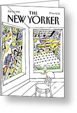 New Yorker February 28th, 1994 Greeting Card