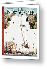 New Yorker February 3rd, 1951 Greeting Card