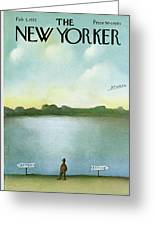New Yorker February 5th, 1972 Greeting Card