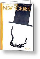 New Yorker February 9th, 1963 Greeting Card