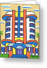 New Yorker Hotel-miami Beach Greeting Card