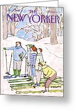 New Yorker January 11th, 1988 Greeting Card