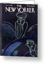 New Yorker January 12 1935 Greeting Card