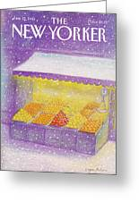 New Yorker January 12th, 1981 Greeting Card