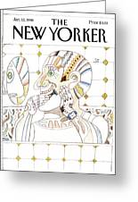 New Yorker January 12th, 1998 Greeting Card