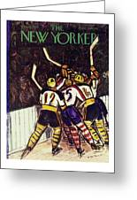 New Yorker January 13 1940 Greeting Card