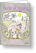New Yorker January 13th, 1986 Greeting Card