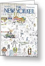 New Yorker January 16th, 1971 Greeting Card