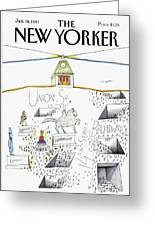 New Yorker January 19th, 1981 Greeting Card