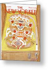 New Yorker January 1st, 1972 Greeting Card