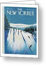 New Yorker January 20th, 1973 Greeting Card