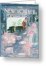 New Yorker January 20th, 1986 Greeting Card