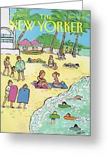 New Yorker January 20th, 1992 Greeting Card