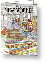 New Yorker January 21st, 1980 Greeting Card
