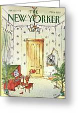New Yorker January 23rd, 1984 Greeting Card