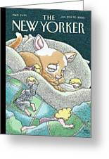 New Yorker January 23rd, 2006 Greeting Card