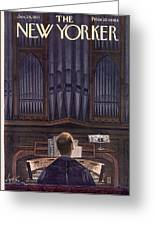 New Yorker January 24th, 1953 Greeting Card