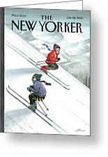 New Yorker January 24th, 2000 Greeting Card