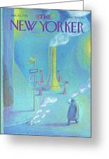 New Yorker January 26th, 1976 Greeting Card