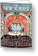 New Yorker January 28th, 1961 Greeting Card