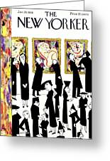 New Yorker January 29 1938 Greeting Card
