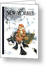 New Yorker January 29th, 2001 Greeting Card