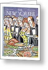 New Yorker January 30th, 1965 Greeting Card