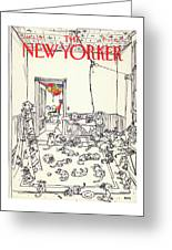 New Yorker January 5th, 1981 Greeting Card
