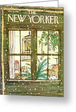 New Yorker January 9th, 1978 Greeting Card