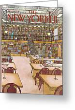 New Yorker January 9th, 1984 Greeting Card