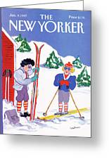 New Yorker January 9th, 1989 Greeting Card