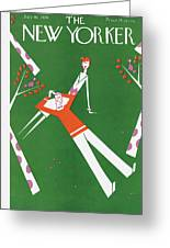 New Yorker July 10th, 1926 Greeting Card