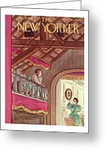 New Yorker July 13th, 1935 Greeting Card
