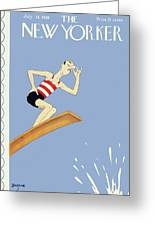 New Yorker July 14 1928 Greeting Card