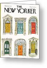 New Yorker July 16th, 1979 Greeting Card