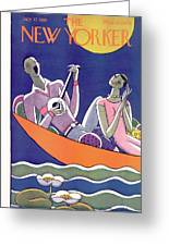 New Yorker July 17th, 1926 Greeting Card