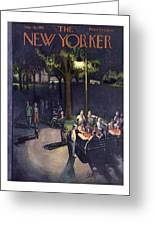 New Yorker July 18th, 1953 Greeting Card